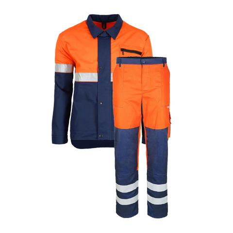 ubranie robocze z odblaskami