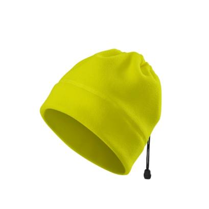 czapka polarowa odblask