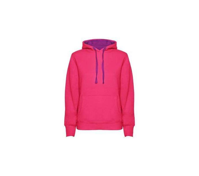 urban bluza damska różowo purpurowa