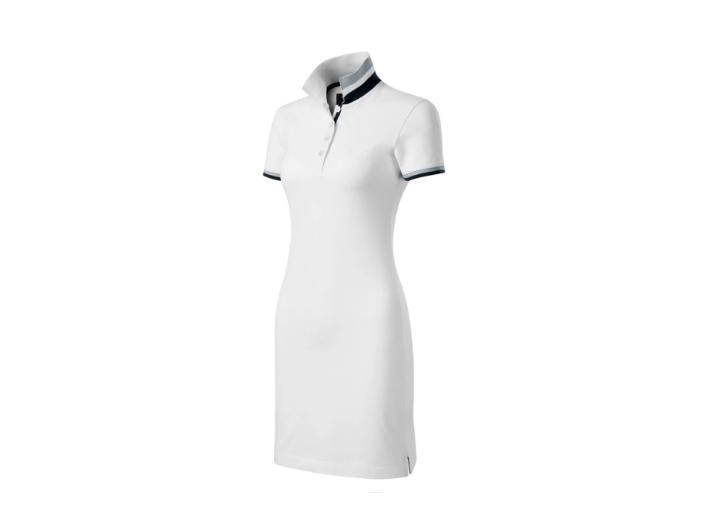 sukienka polo biała