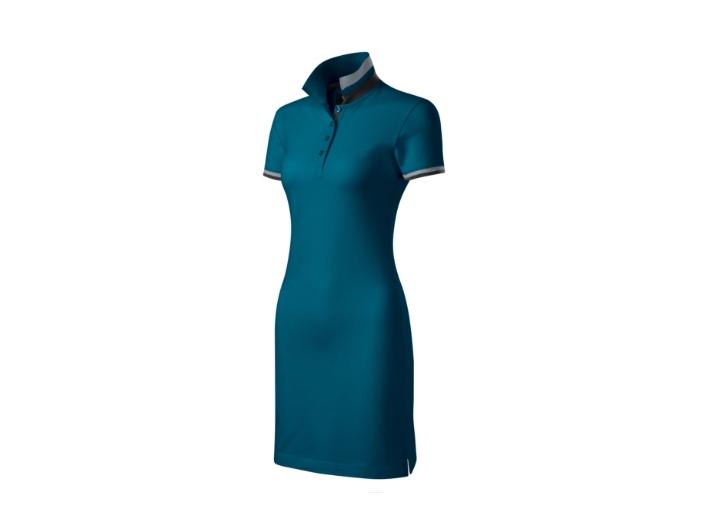 sukienka polo petrol blue